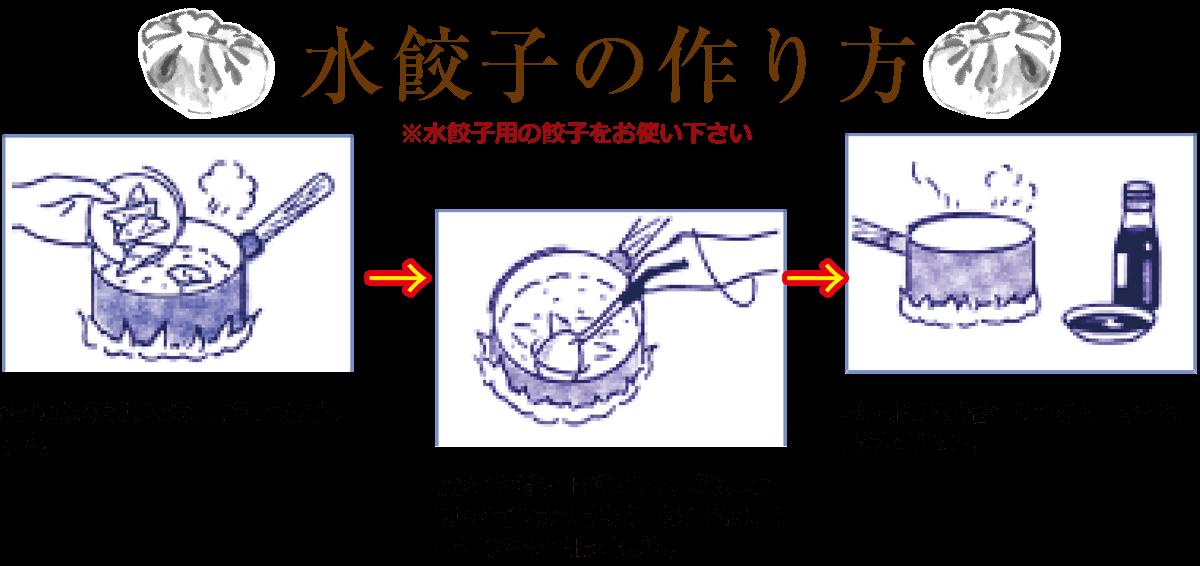 美味しい水餃子の作り方