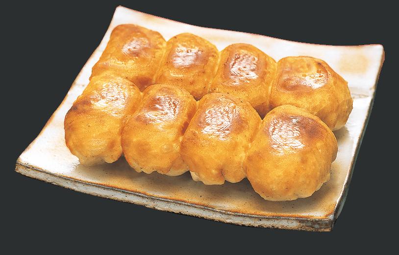 完成した焼き餃子!